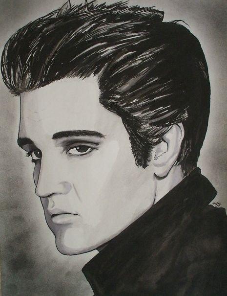 Elvis Presley by Markbickley
